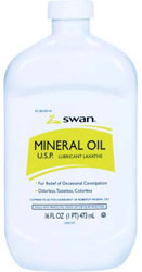 ACEITE MINERAL SWAN 16 OZ