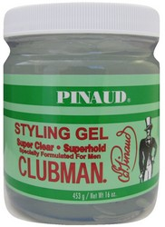 CLUBMAN STYLING GEL SUPER CLEAR 16oz
