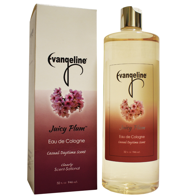 EVANGELINE COLOGNE PLUM 32oz