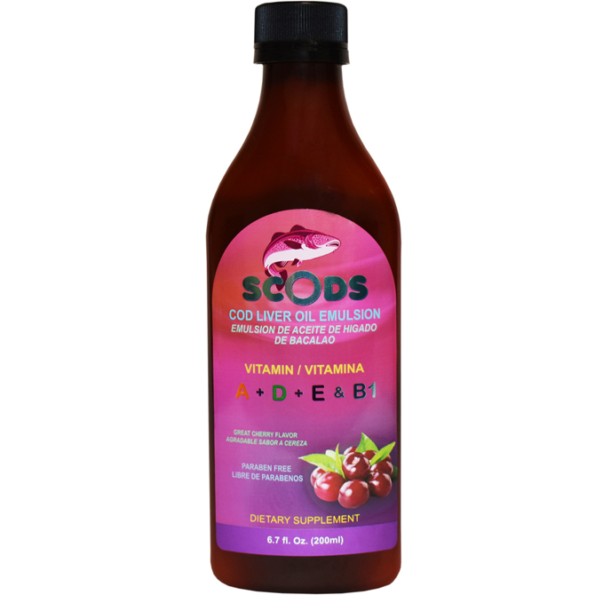 EMULSION SCODS CHERRY ELP 6.7oz