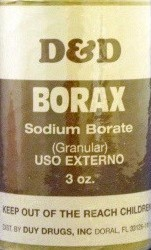 BORAX POWDER 3 OZ
