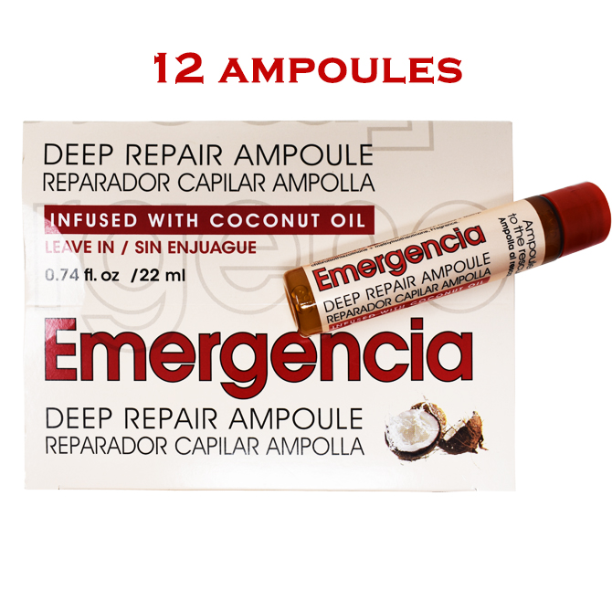 EMERGENCIA DEEP REPAIR AMPOULE X 12