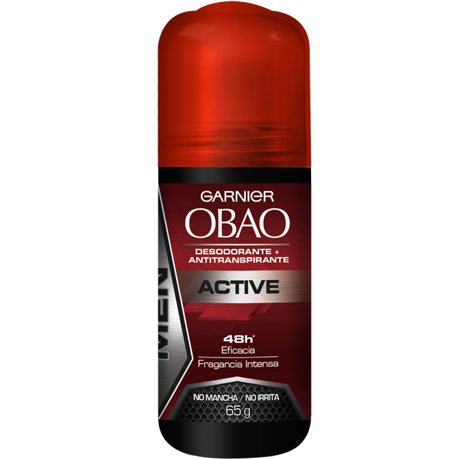 OBAO DEODORANT ROLL-ON MEN ACTIVE 65gr
