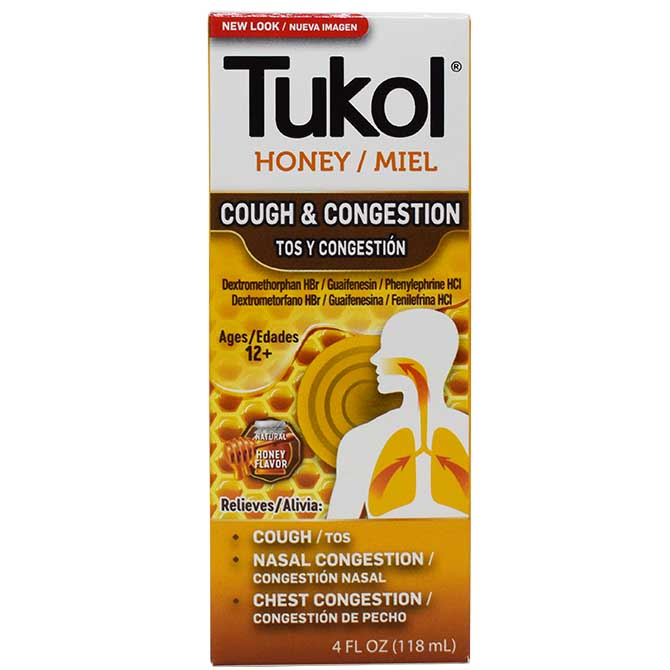TUKOL ADULTS XPECTO MIEL 4oz