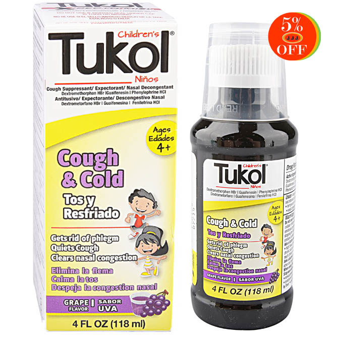 TUKOL CHILDREN'S COUGH & COLD 4oz