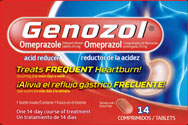 GENOZOL 20 MG TABLETS X 14'S (GENOMMA)