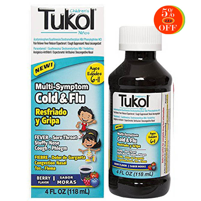 TUKOL CHILDREN'S MULTI-SYMPTON COLD&FLU 4oz