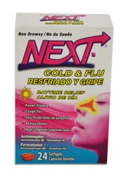 GENOMMA NEXT DAY COLD/FLU 24'S
