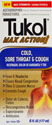 TUKOL ADULTS MAX ACTION  COLD/COUGH 6oz
