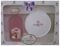 CORLY SET TALC & COL GIRL 2 PS