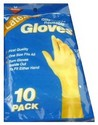 E GLOVES DISPOSABLE LATEX X10