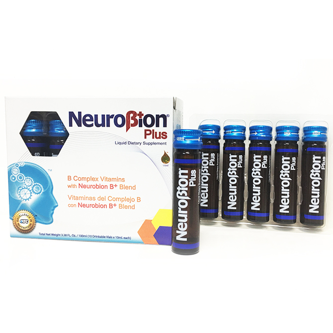 NEUROBION LIQUID VIALS PLUS 10'S