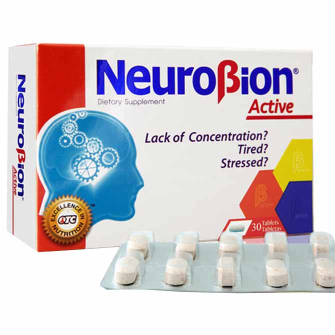NEUROBION TABLETS ACTIVE 30'S