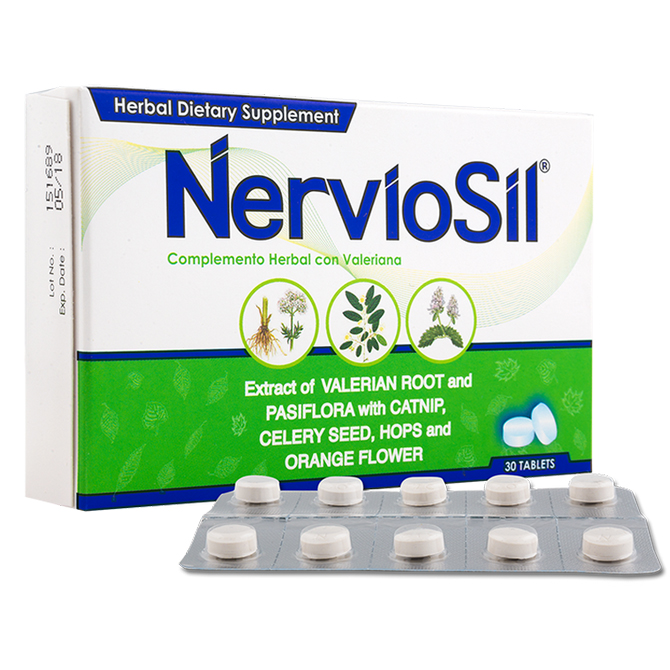 NEUROBION NERVIOSIL BLISTER WITH VALERIAN 30'S