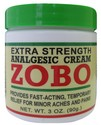 ZOBO ANALGESIC CREAM 3 OZ