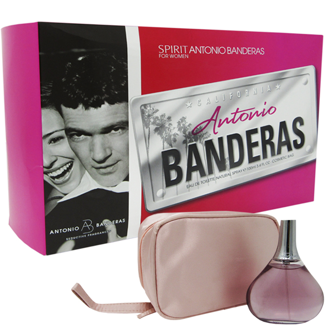 ANTONIO BANDERA SPIRIT WOMEN SET EDT 3.4OZ