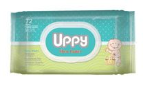 UPPY WIPES SHEA BUTTER 72'S